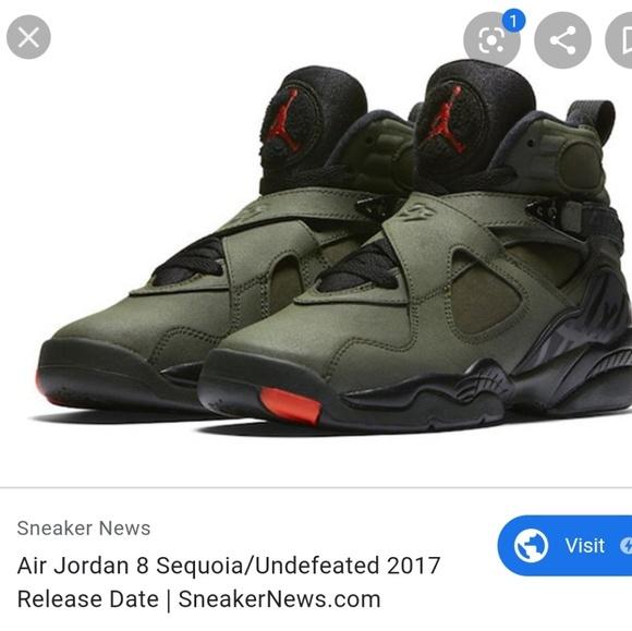 Jordan Shoes | Jordan 8 Military Green